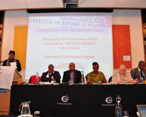 CGE council on gender